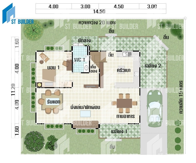 STR-150 Floor Plan 1