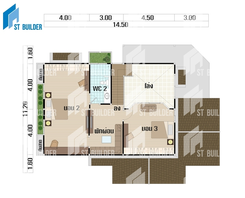 STR-150 Floor Plan 2