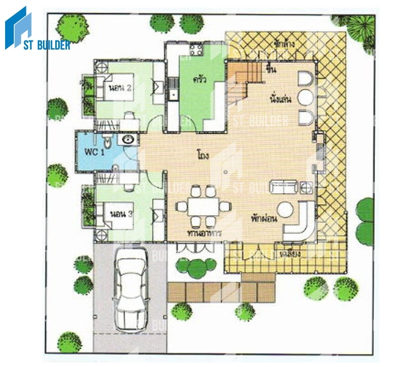 STR-153 Floor Plan 1