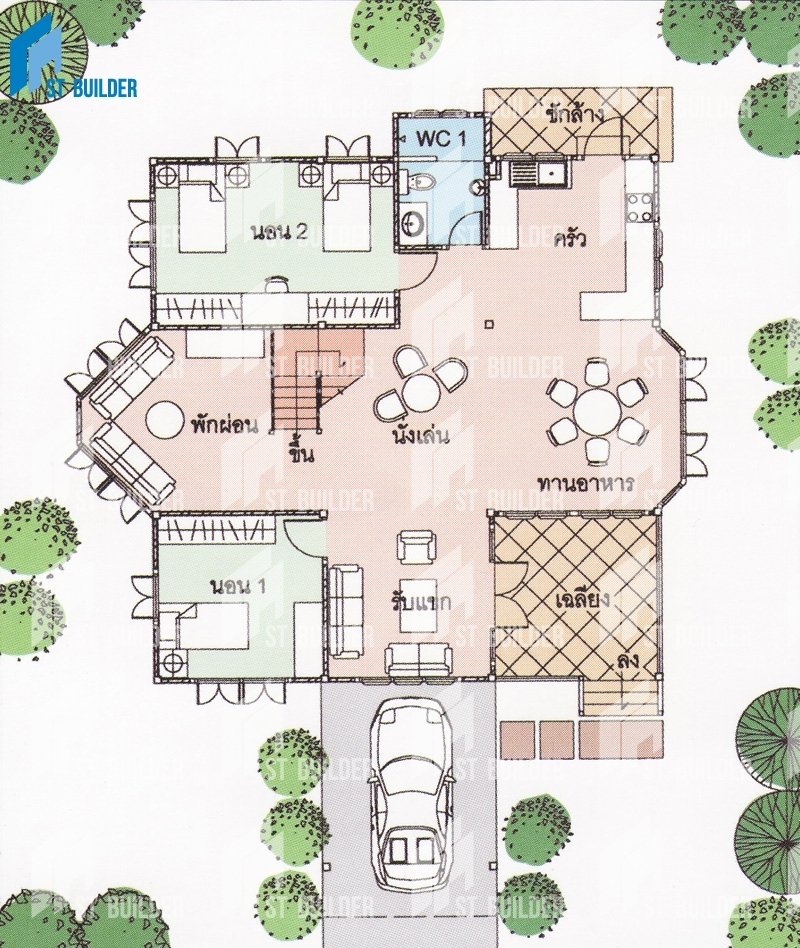 STR-154 Floor Plan 1