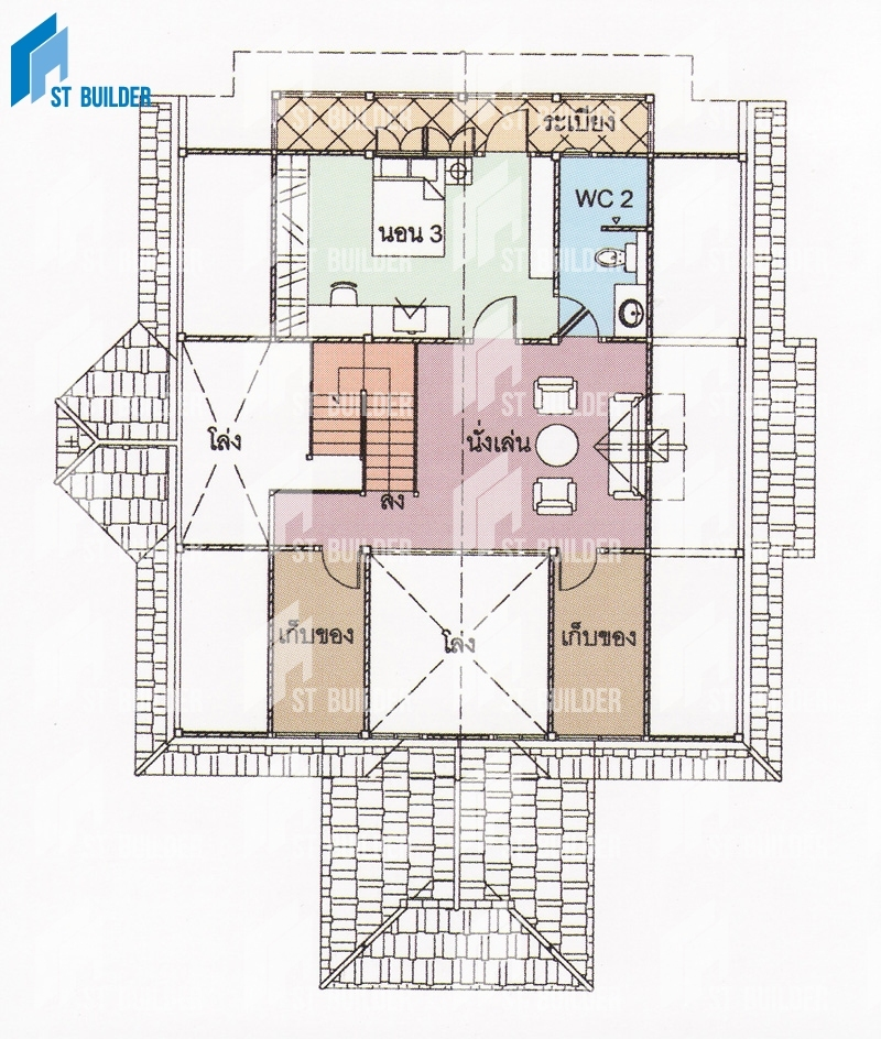 STR-154 Floor Plan 2