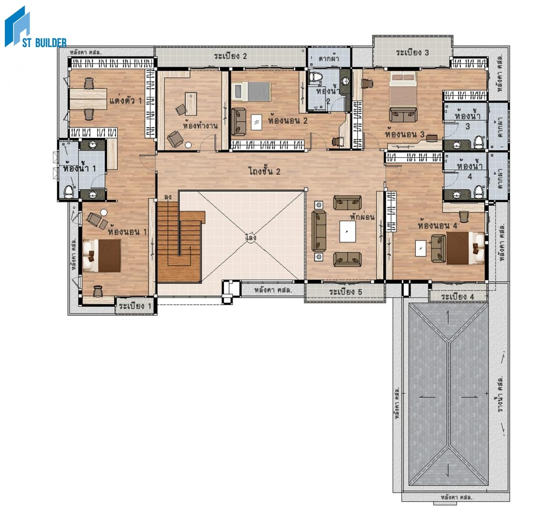 STC-205 Floor plan 2