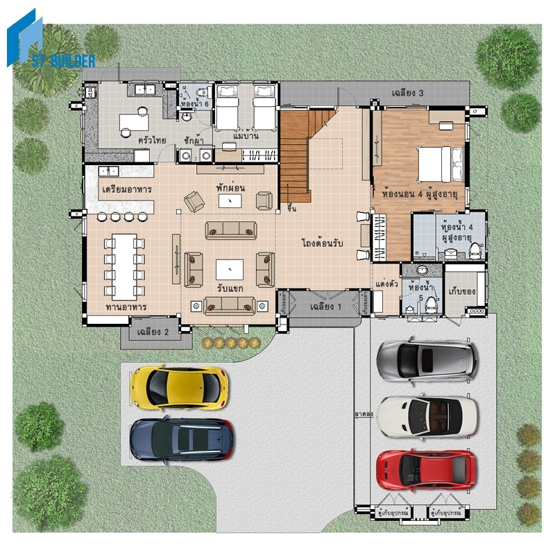STC-203 Floor Plan 1