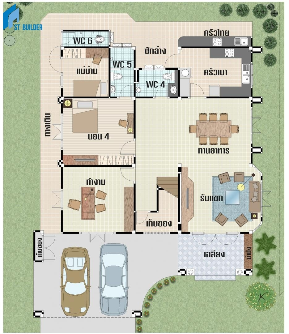 STC-204 Floor Plan 1