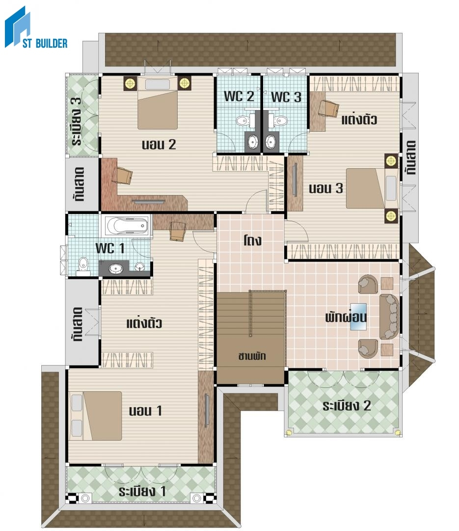 STC-204 Floor Plan 2