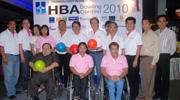 สมาคมธุรกิจรับสร้างบ้าน ร่วมกับมูลนิธิส่งเสริมและพัฒนาคนพิการ จัดการแข่งขันโบว์ลิ่งการกุศล HBA Bowling Contest 2010