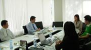 ธนาคารกสิกรไทยเข้าพบนายกสมาคมธุรกิจรับสร้างบ้าน เพื่อหารือด้านการพัฒนาบริการ Home Virtual Expert
